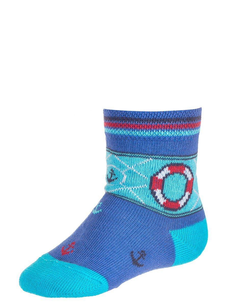 Носки для мальчика, цвет: васильковый