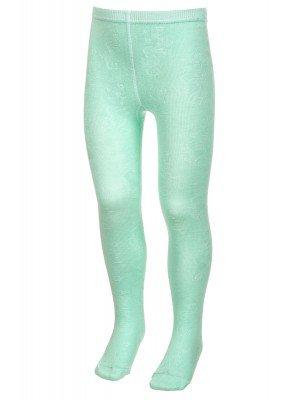 Колготки для девочки с лайкрой,изображение китов по всей длине ноги