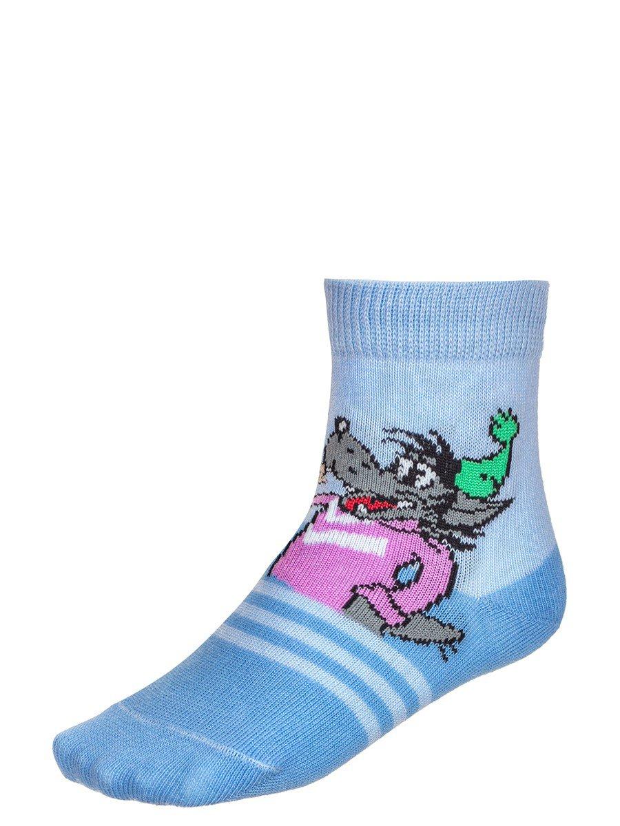 Детские носки из коллекции , цвет: голубой