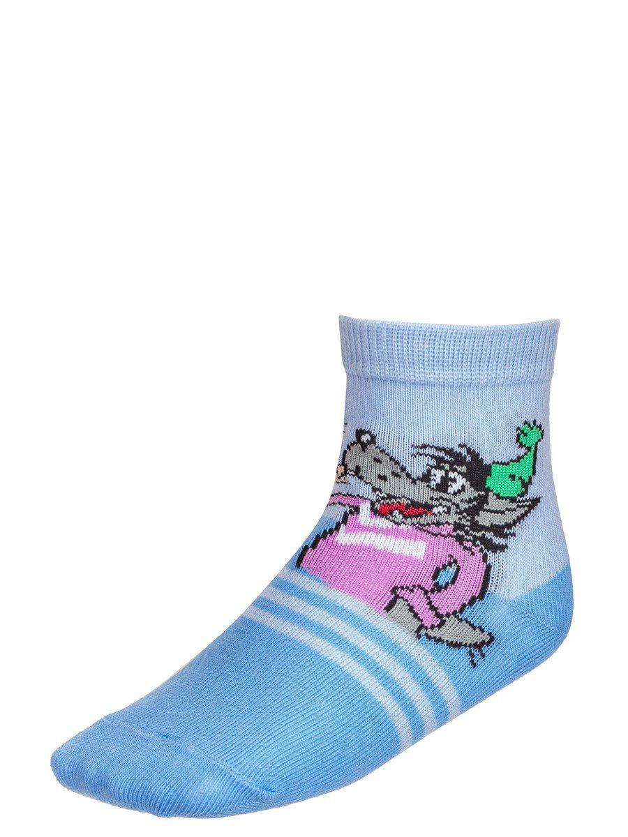 Детские носки из коллекции , цвет: деним