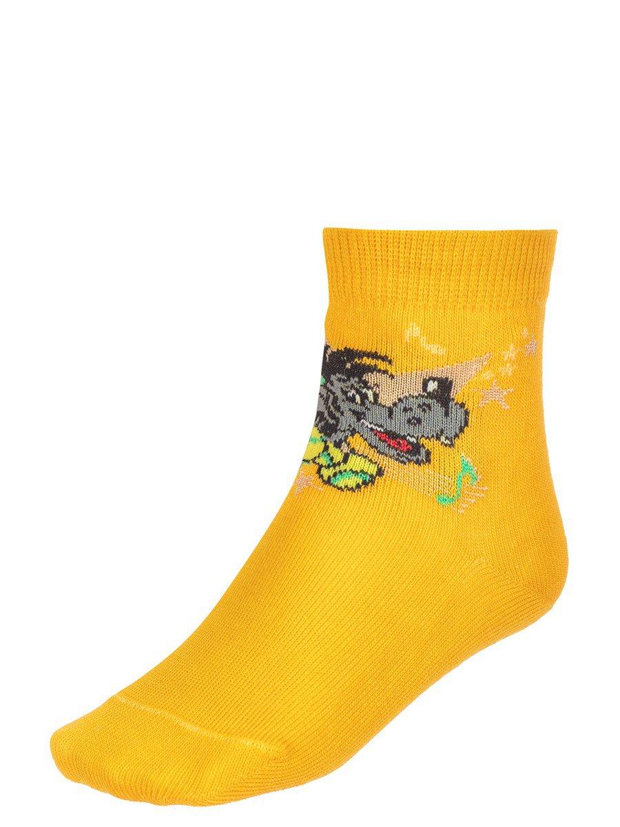 Детские носки из коллекции , цвет: желтый