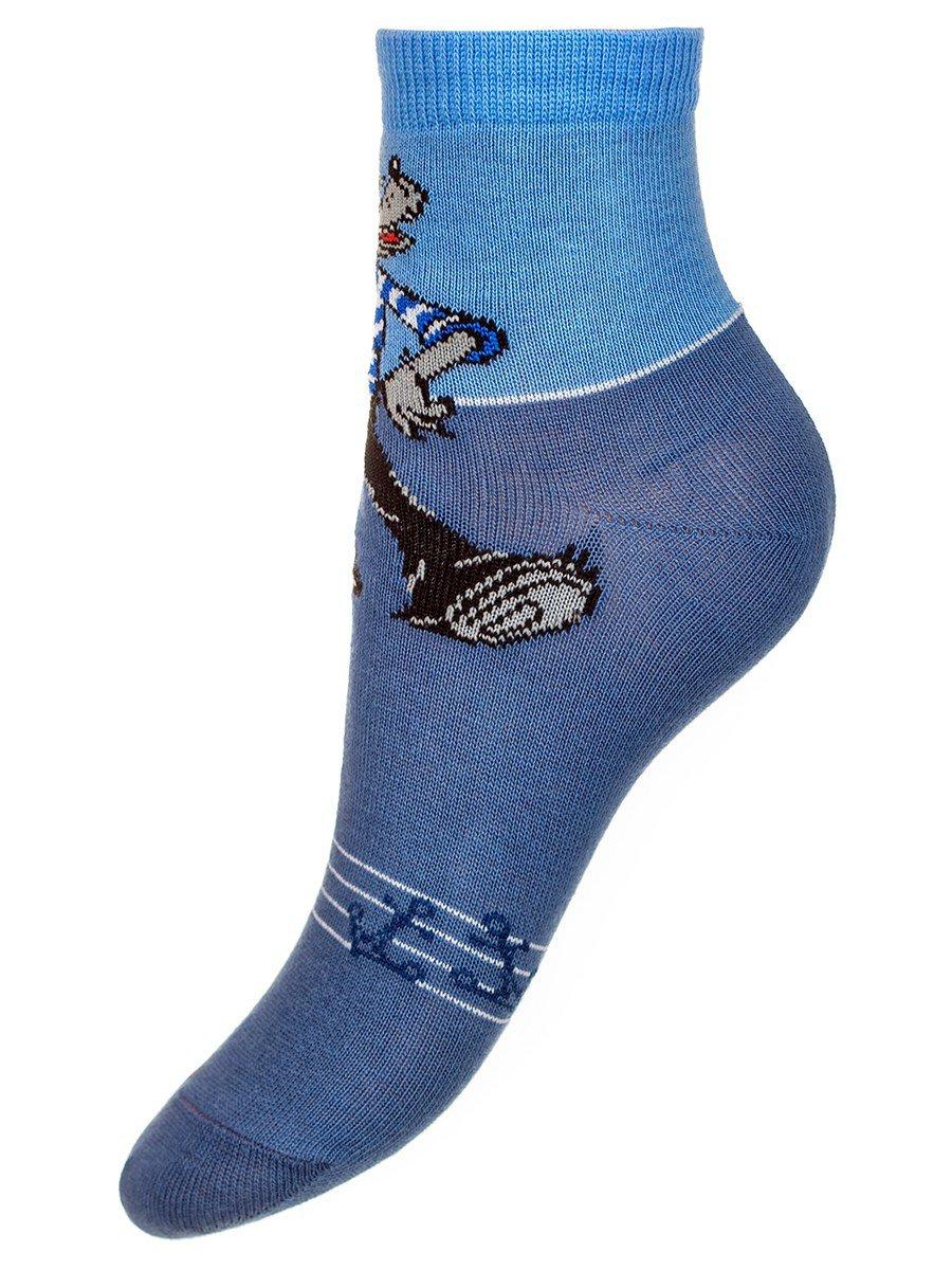 """Детские носки из коллекции """"Ну, погоди!"""", цвет: деним"""