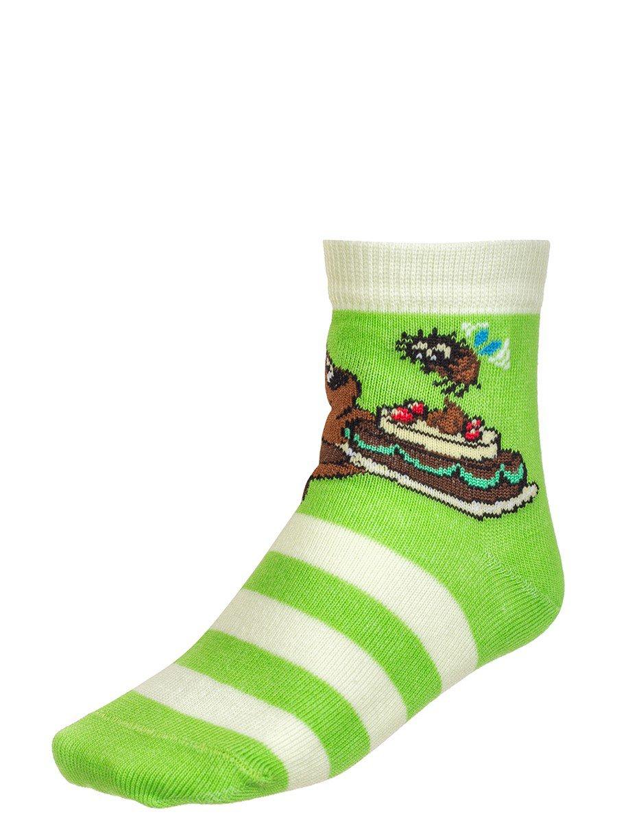 """Носки из коллекции """"Винни-Пух"""", цвет: салатовый"""
