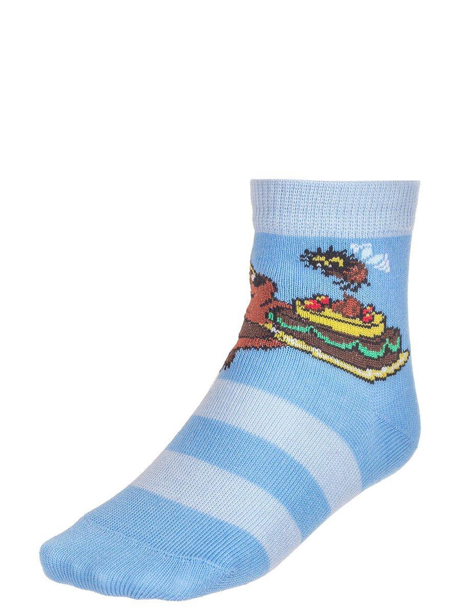 """Носки из коллекции """"Винни-Пух"""", цвет: голубой"""