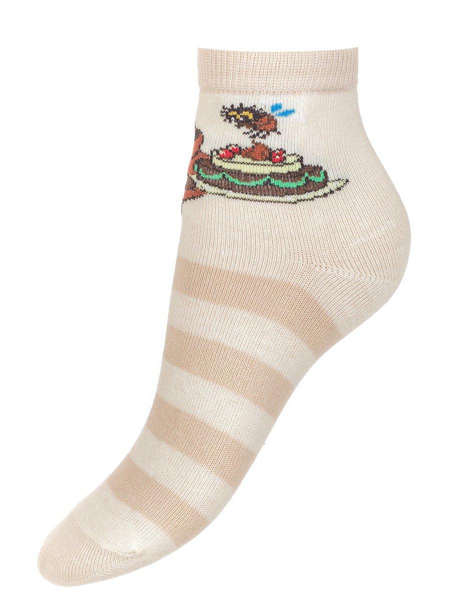 """Носки из коллекции """"Винни-Пух"""", цвет: бежевый"""