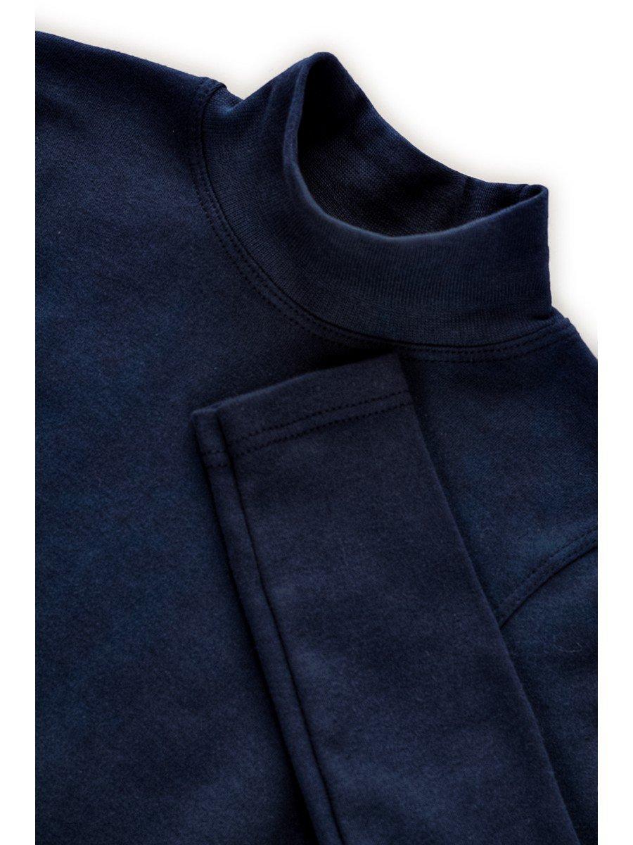 Водолазка детская, цвет: темно-синий