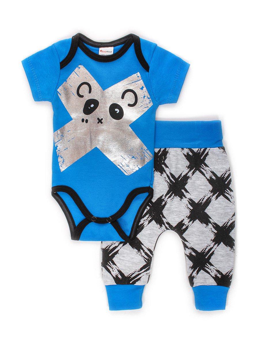 Комплект для мальчика: боди и штанишки
