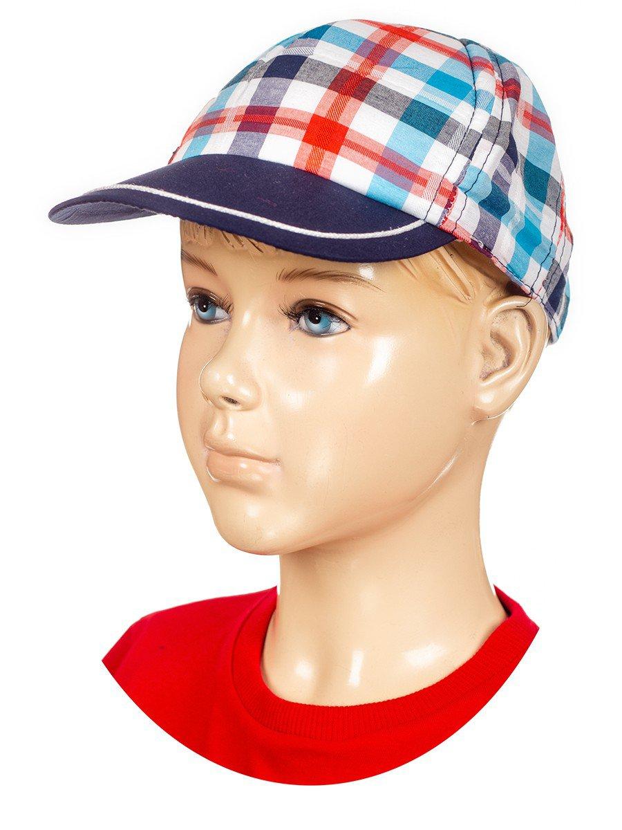 Комплект для мальчика: футболка , шорты и кепка, цвет: красный