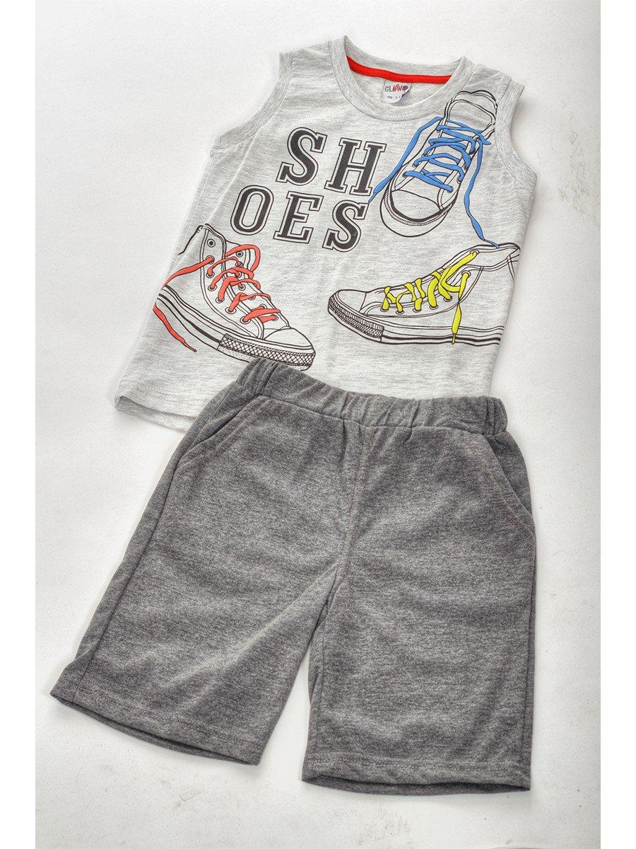 Комплект для мальчика: майка и шорты