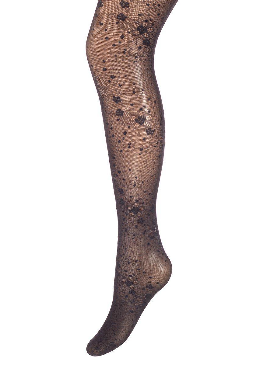 Колготки для девочки полиамидные LAURA nero, цвет: черный