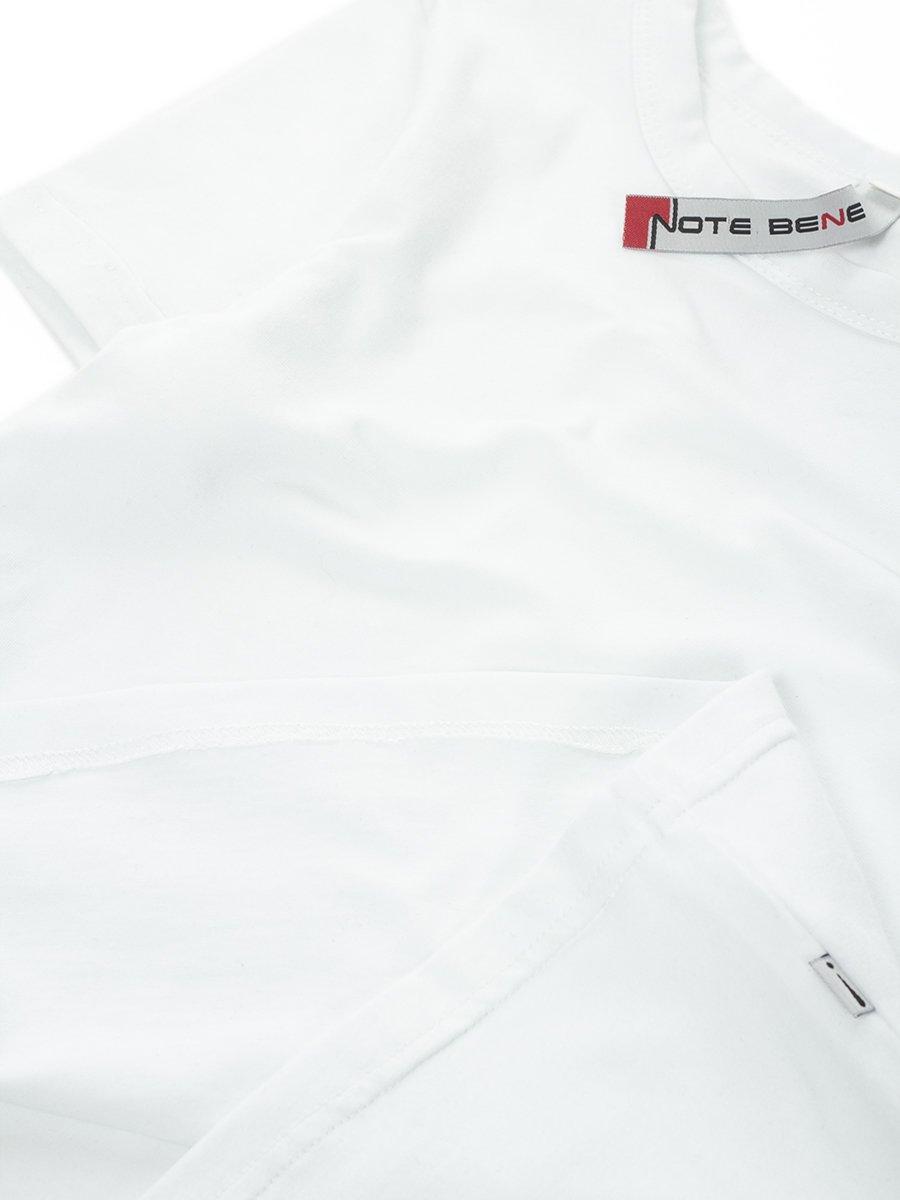 Блузка прилегающего силуэта, цвет: белоснежный