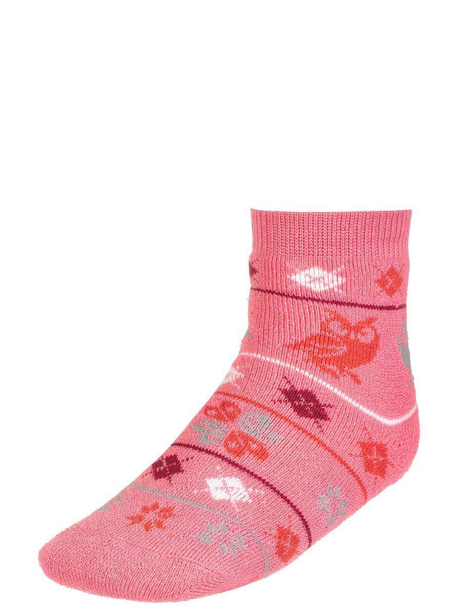 Носки для девочки плюшевые, цвет: персиковый