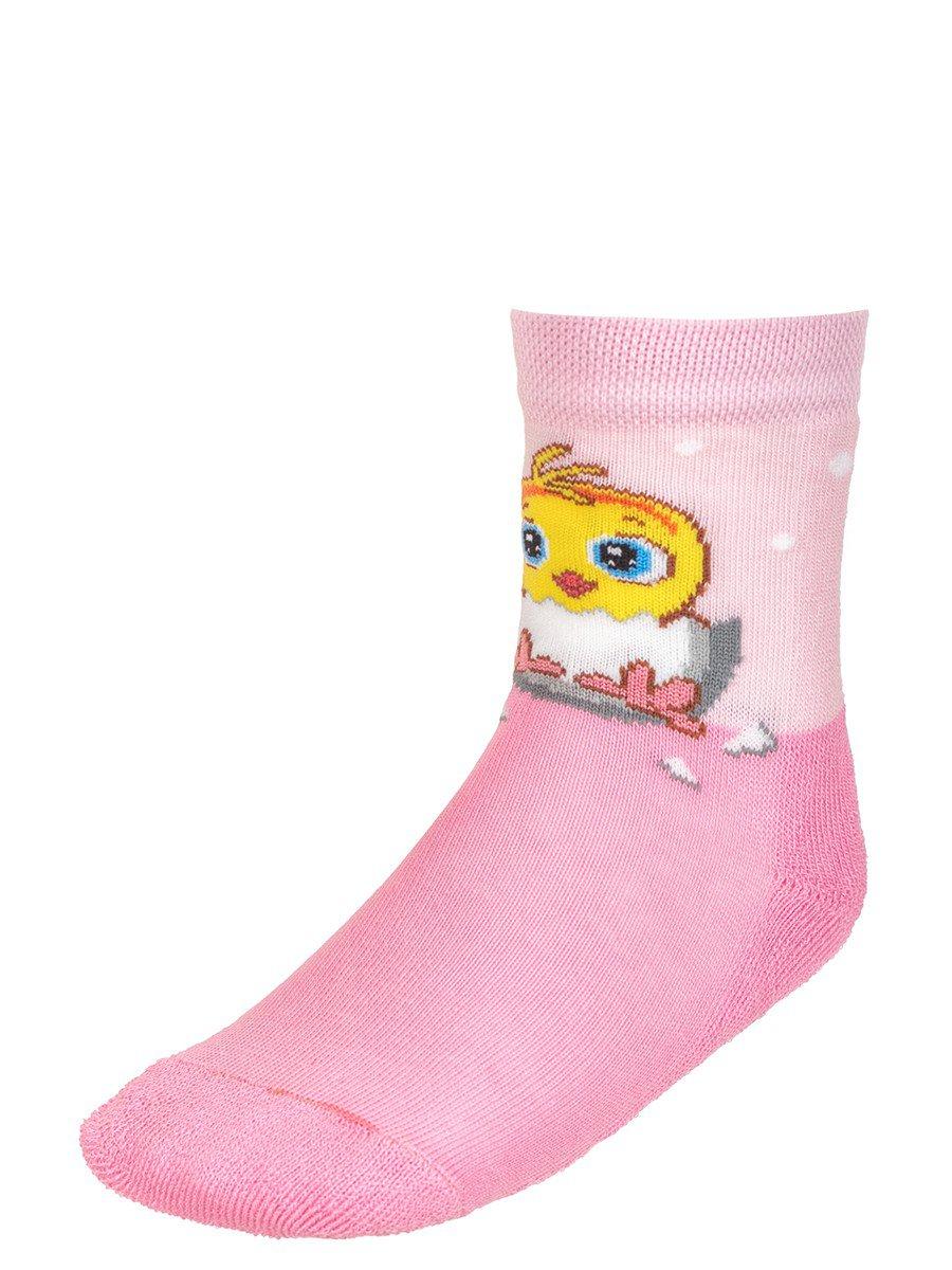 Детские зимние носки  плюшевым следом.