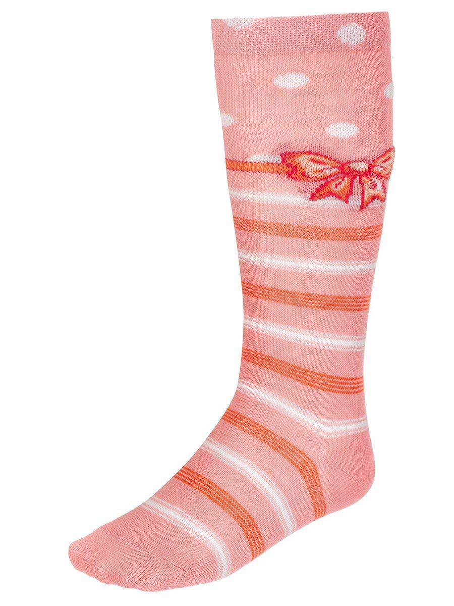 Гольфы для девочки, цвет: персиковый