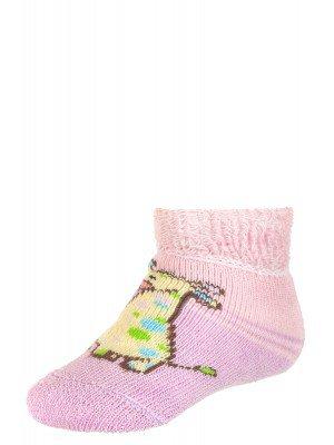 Плюшевые носки для младенцев, без пятки