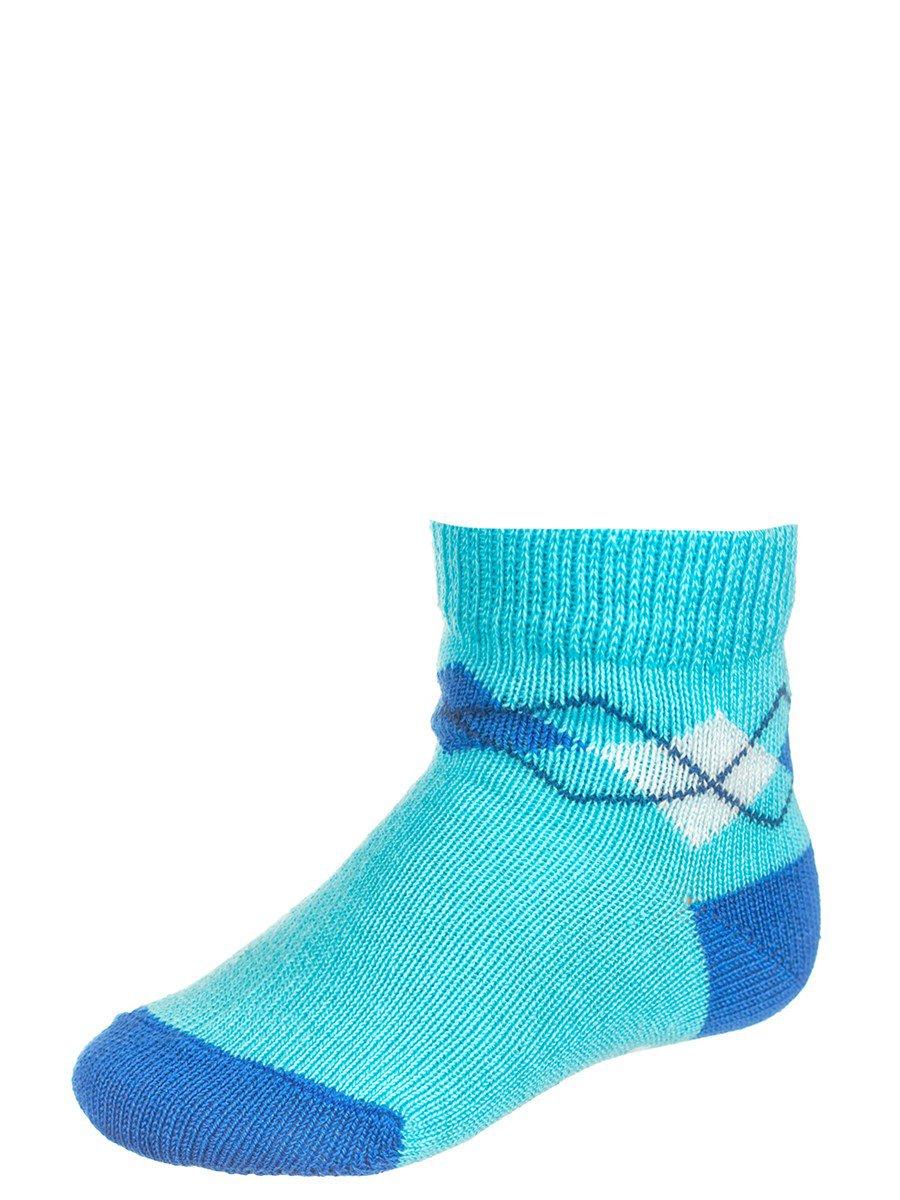 Носки для мальчика, цвет: бирюзовый