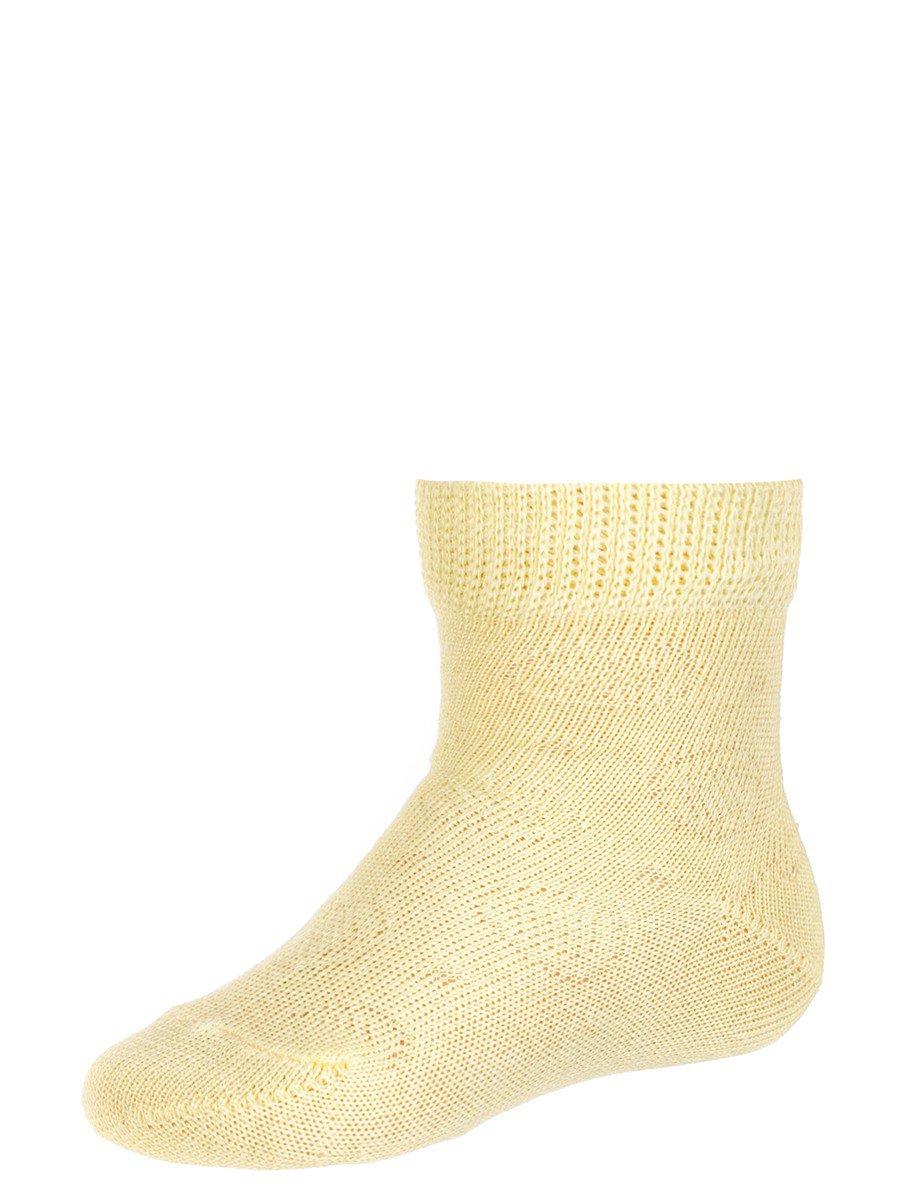 Детские летние носки, цвет: желтый