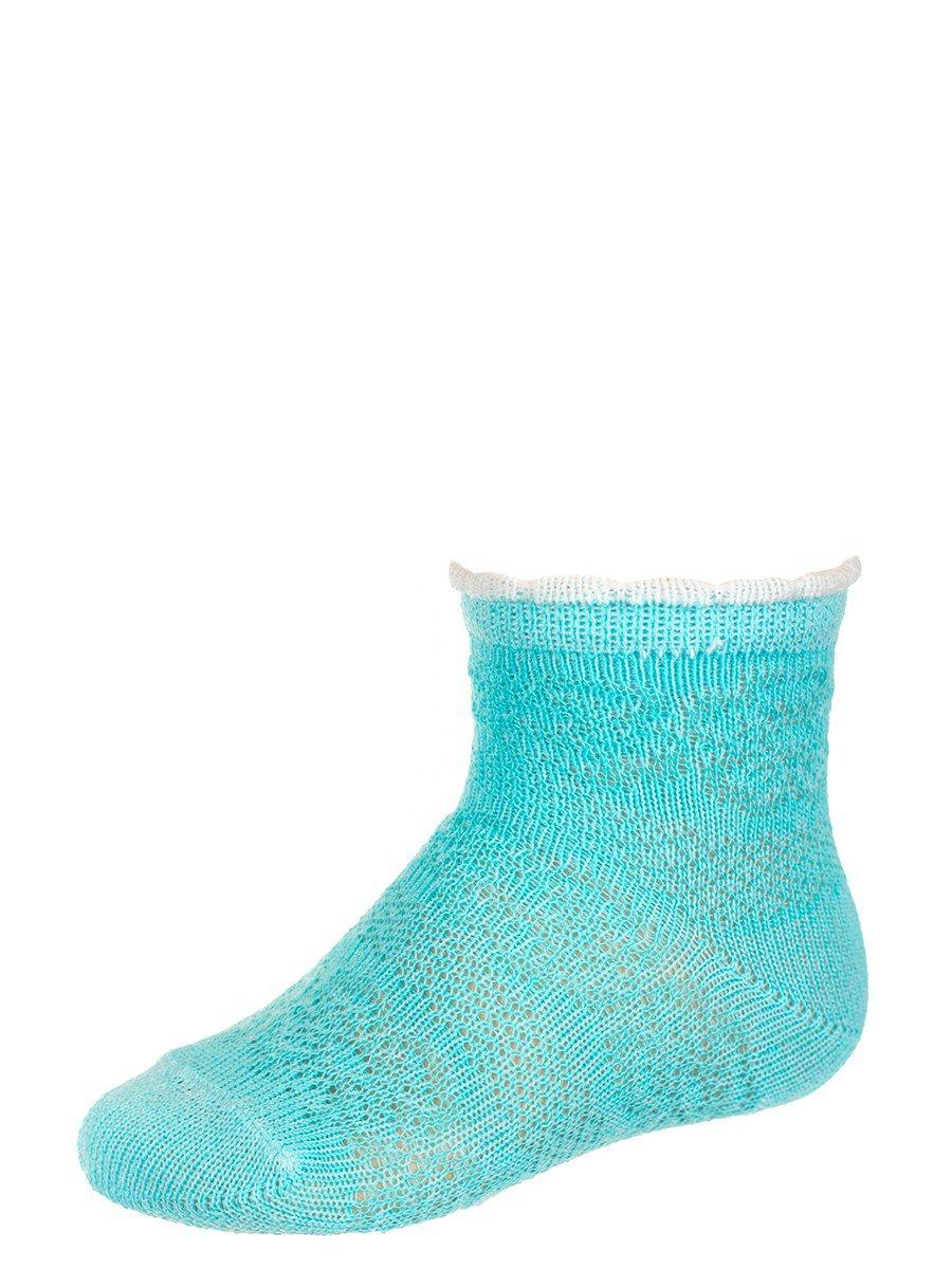 Носки для девочки, цвет: бирюзовый