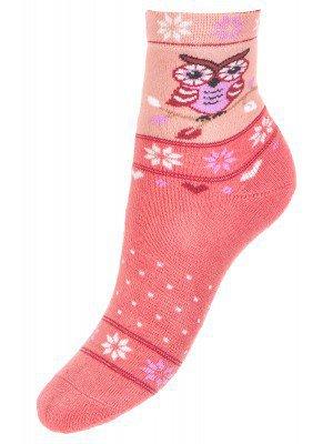 Носки плюшевые для девочки