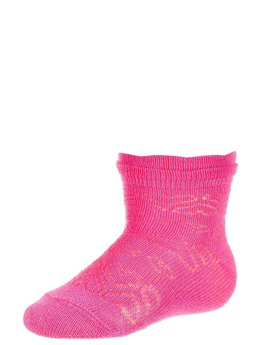 Демисезонные носки из бамбука для малышей, цвет: малиновый