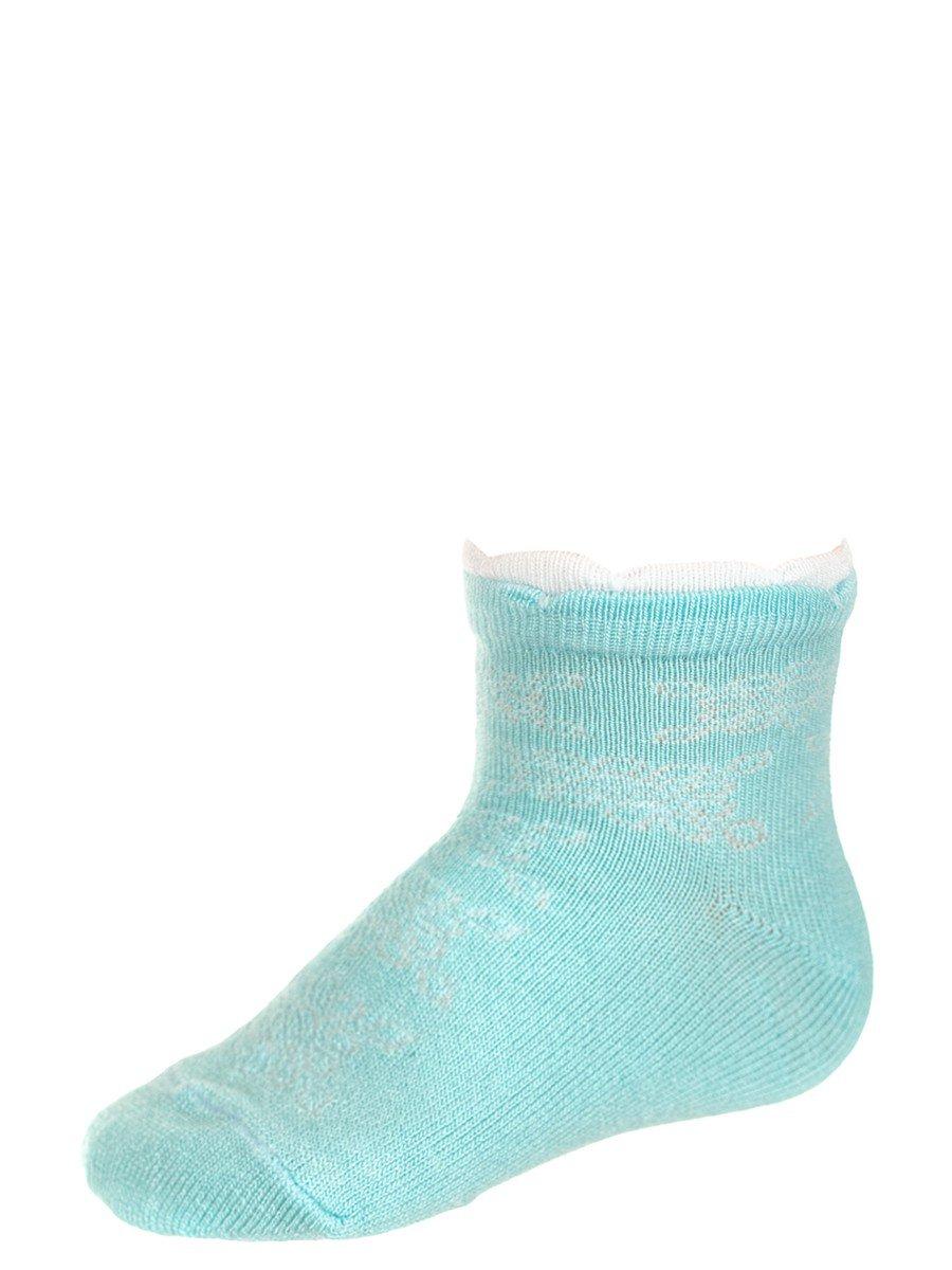 Демисезонные носки из бамбука для малышей, цвет: мятный