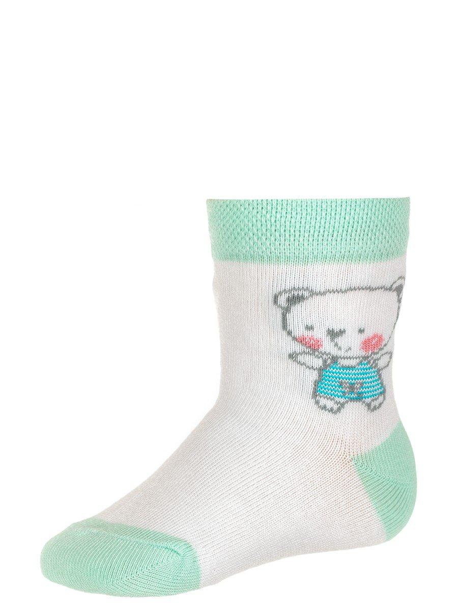 Носки детские, цвет: мятный