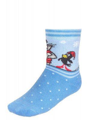 Зимние плюшевые носки с персонажами из мультфильма «Простоквашино»