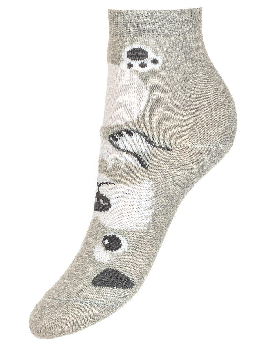 Демисезонные носки с забавными животными на верхней части носка