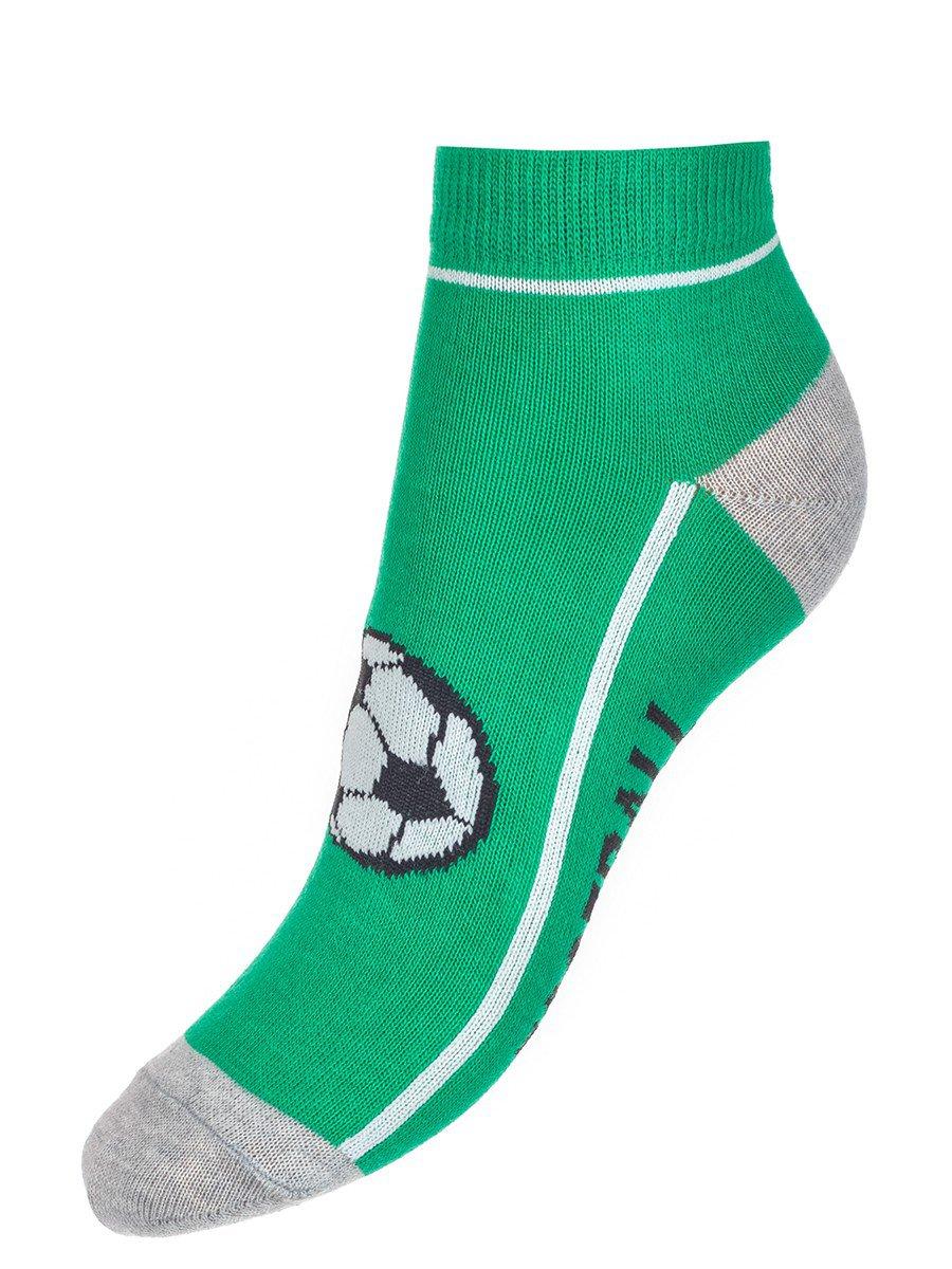 Носки спортивные для мальчика, цвет: зеленый