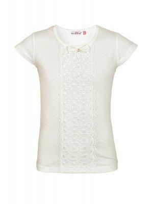 Блузка для девочки отделка-гипюр
