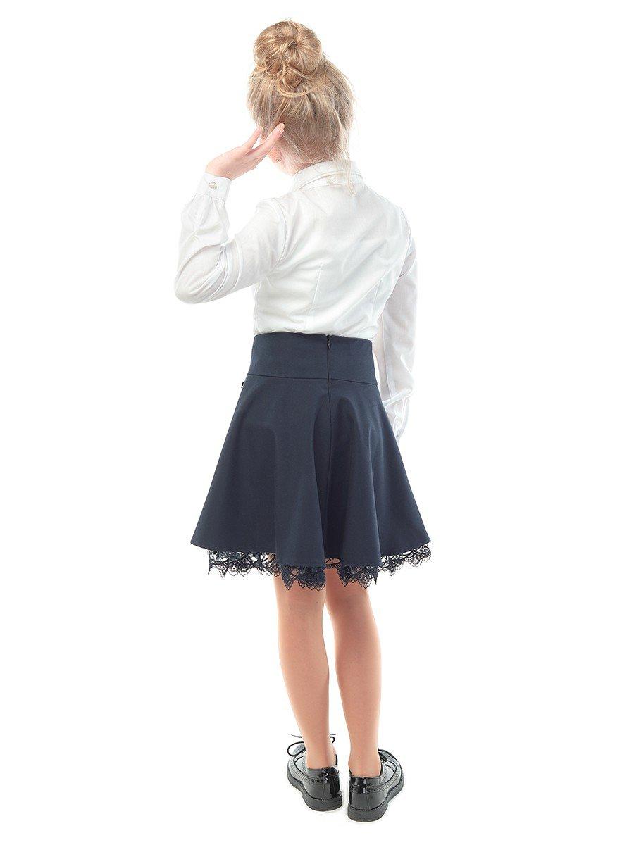 Блузка для девочки, цвет: белый