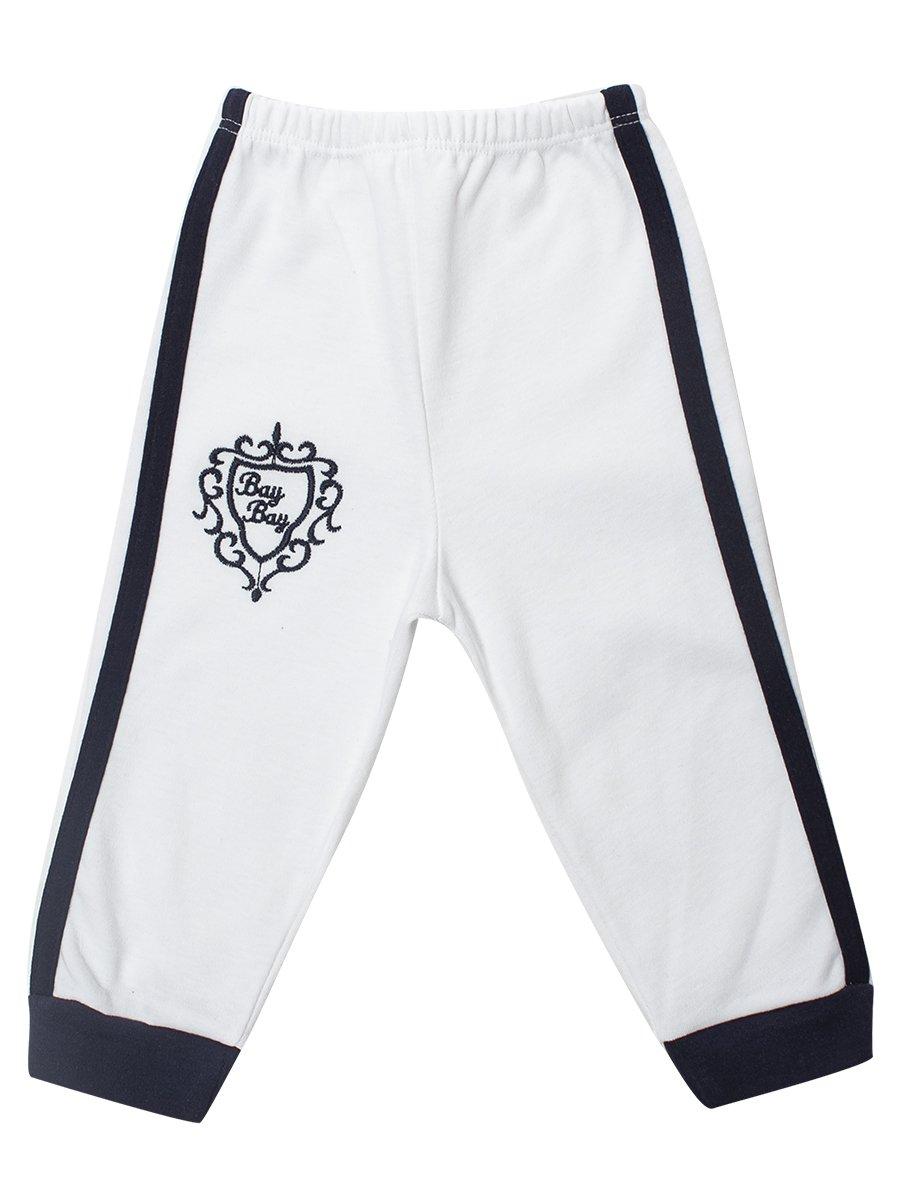 Комплект для мальчика: кофточка, штанишки и шапочка, цвет: белый
