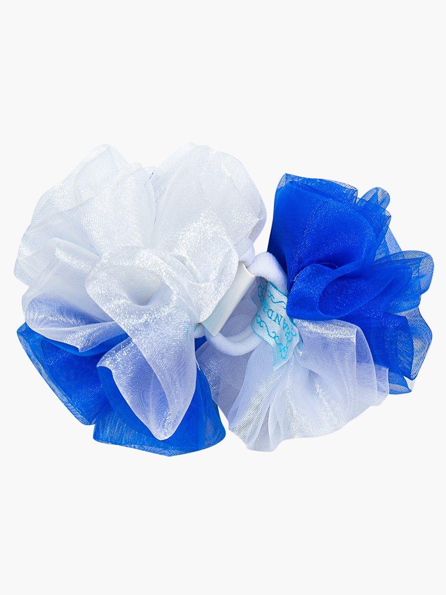 Бант школьный, пара, цвет: синий