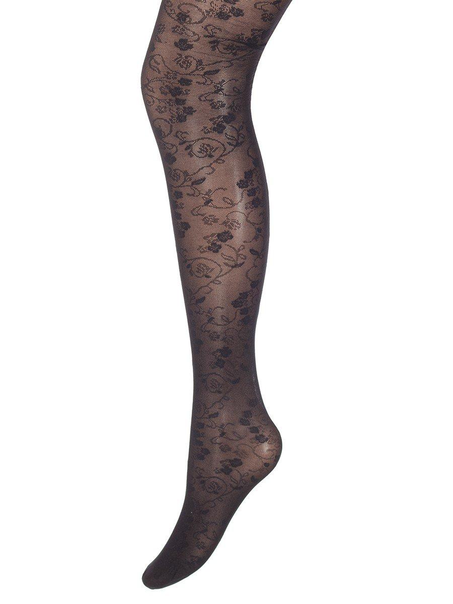 Колготки для девочки полиамидные ANITA серия Fashion (тонкие) 20 DEN, цвет: черный