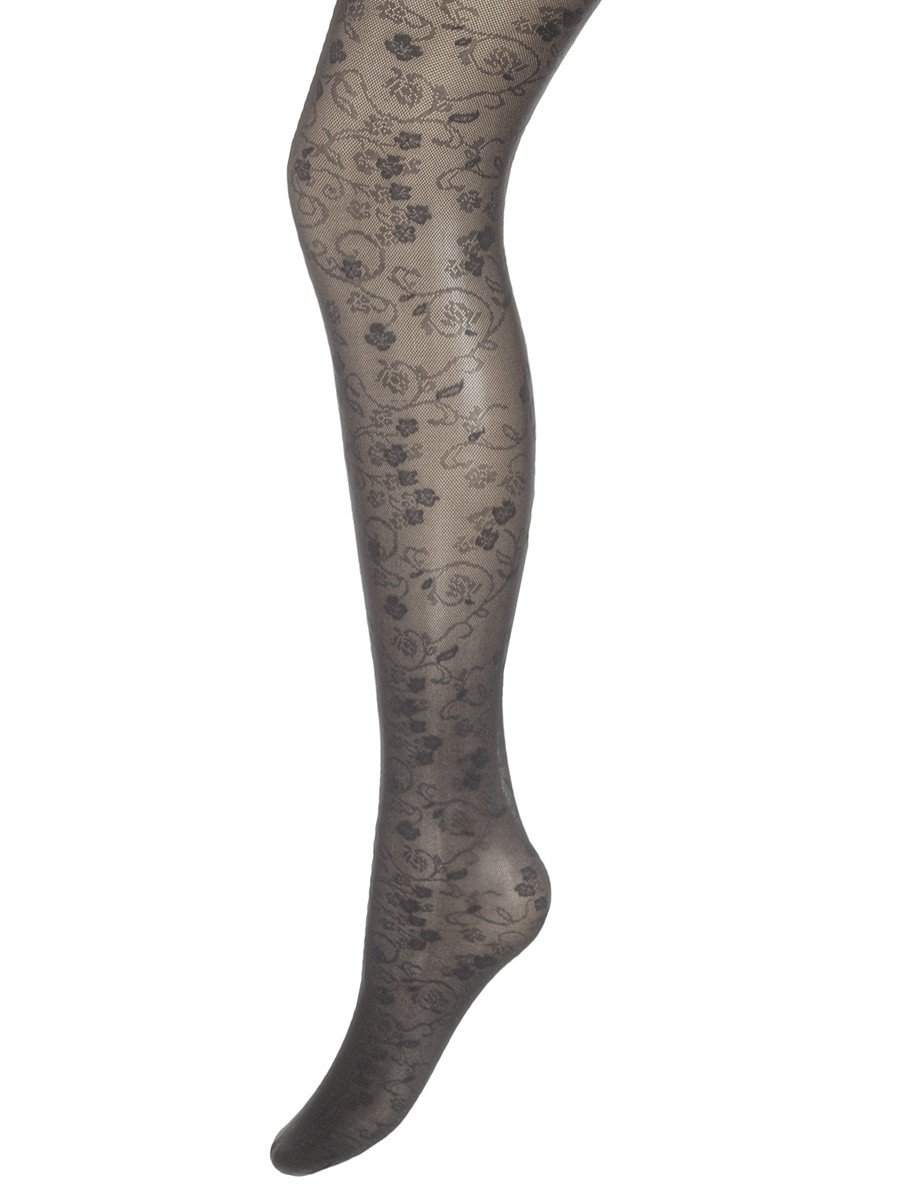 Колготки для девочки полиамидные ANITA серия Fashion (тонкие) 20 DEN, цвет: темно-серый