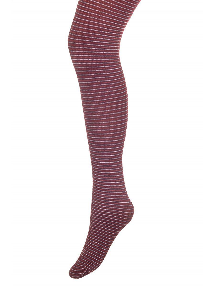 Колготки для девочки полиамидные нарядные  MARCIA, цвет: бордовый