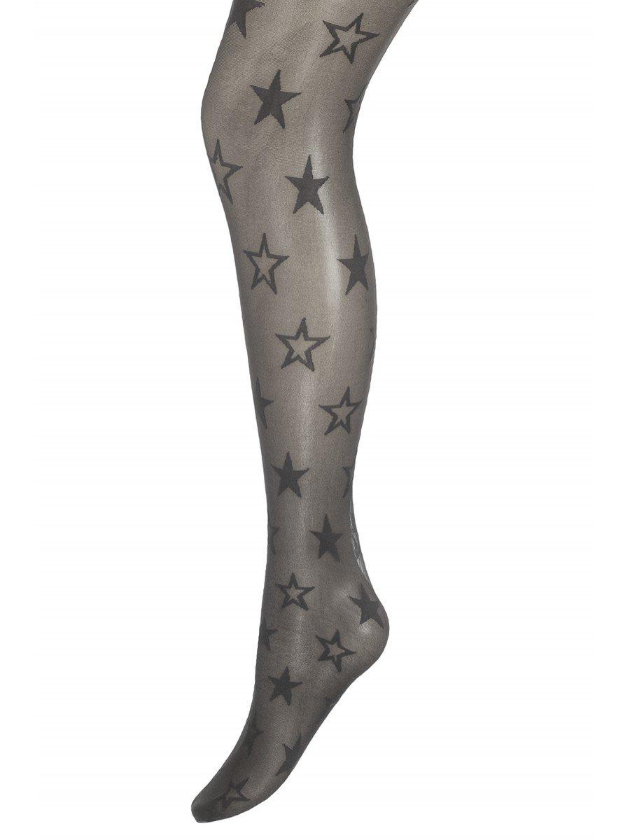 Колготки для девочки полиамидные STARLET, цвет: темно-серый