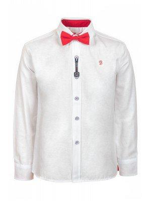 Рубашка для мальчика с бабочкой