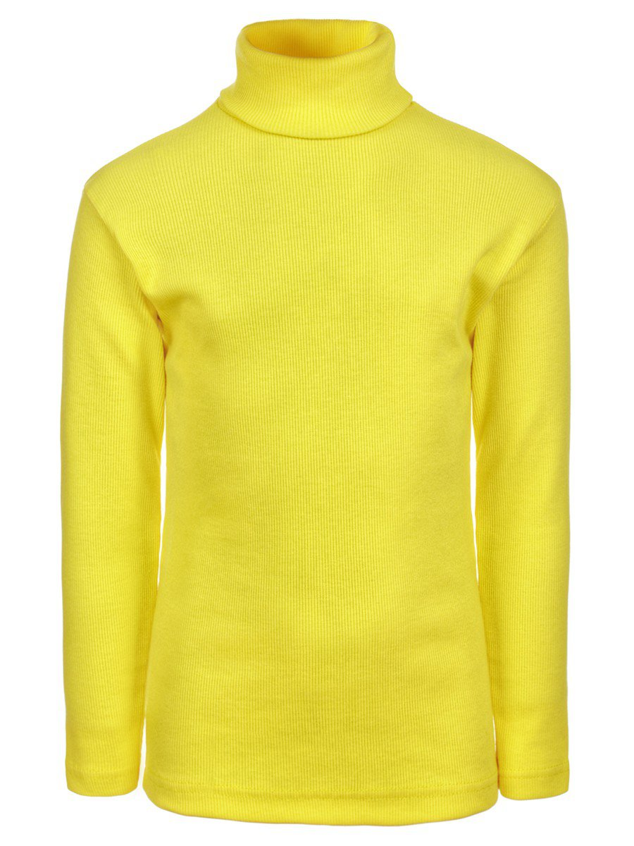 Водолазка детская, цвет: желтый