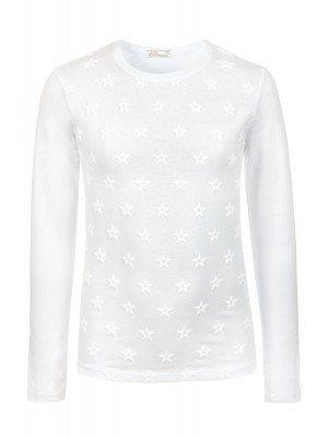 Блузка для девочки с термоаппликацией