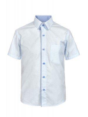 Рубашка для мальчика приталенного силуэта