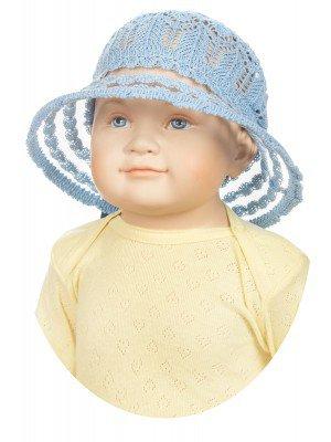 Шляпа для девочки «Панамка»