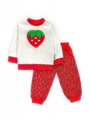 Комплект для девочки; штанишки и кофточка