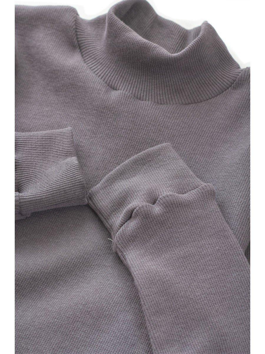 Водолазка детская, цвет: серый