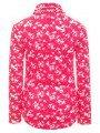 Водолазка для девочки из кашкорсе, цвет: малиновый