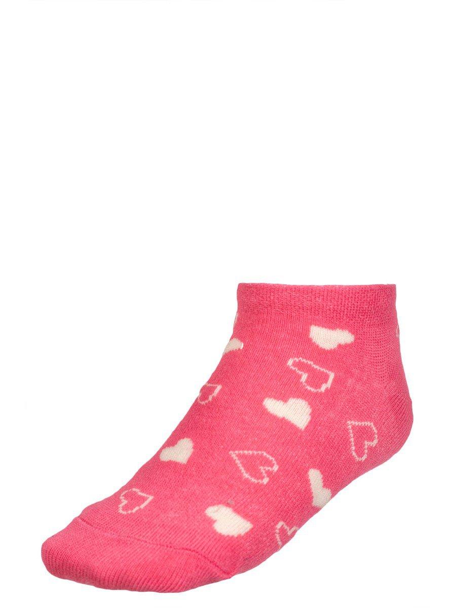 Носки для девочки, цвет: коралловый