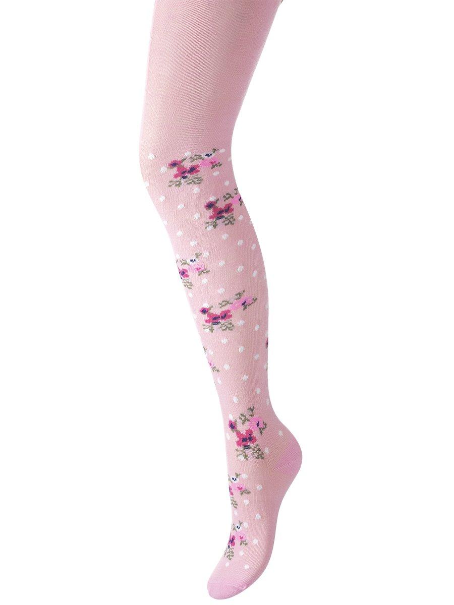 Колготки для девочки, цвет: розовый