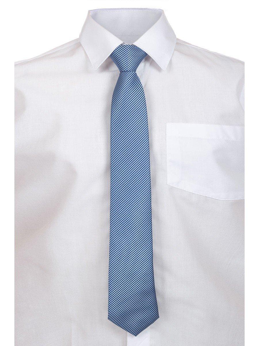 Галстук для мальчика, цвет: голубой