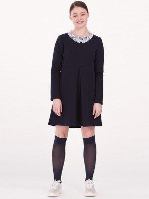 Платье для девочки школьное