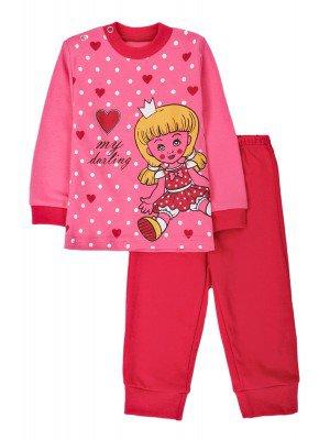 Комплект для девочки:штанишки и кофточка